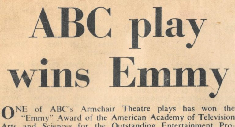 Alvin Rakoff ABC Play Wins Emmy