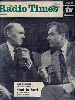 (1962) HEART TO HEART by Terrence Rattigan starring Kenneth More, Ralph Richardson