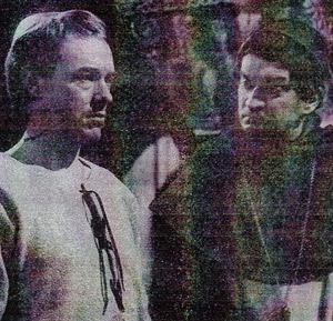 Michael Bryant and Derek Godfry in The Heretics